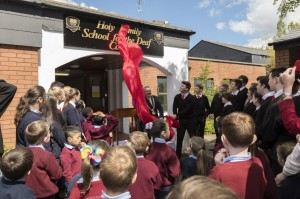 Lord Mayor unveils Sign for Holy Family 19 May 2017